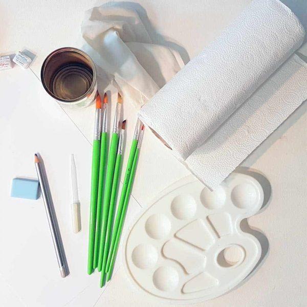 Akvarell festés eszközhasználat ingyenes tanfolyam