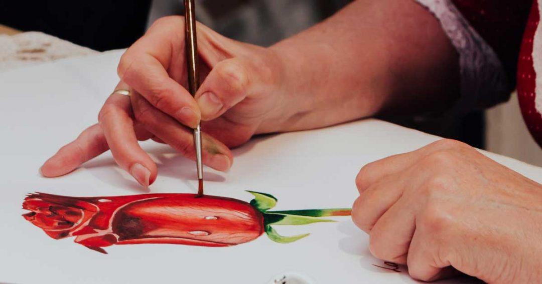 Online akvarell festés tanfolyamok